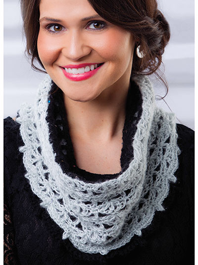 Luxury Lace Cowl