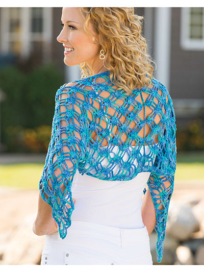 Annie's Signature Designs: Paradise Bay Shrug