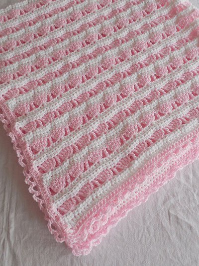 Sea Shell Princess Blanket