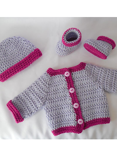 Two Tone Sweater Set