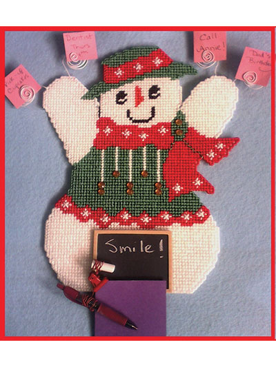 Snowman Message Holder