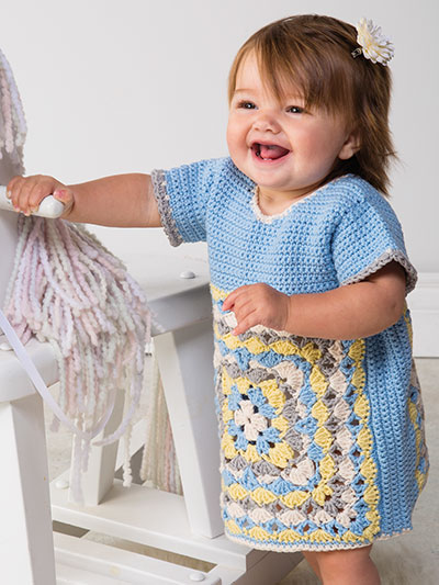 Granny's Girl Tunic Crochet Pattern