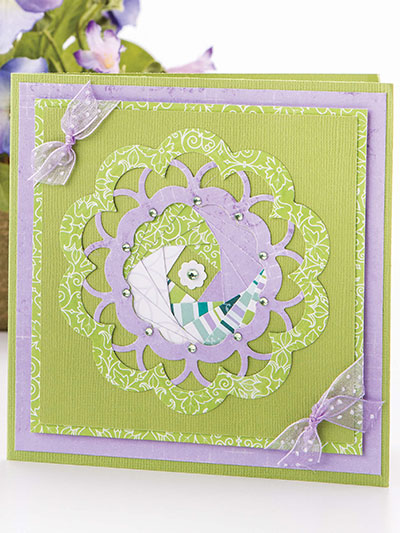 Floral Delight Iris-Fold Flower Card