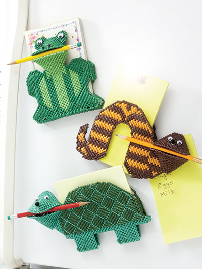 Cute Critter Note Holders