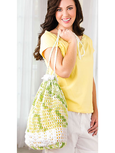 Limeade Beach Bag