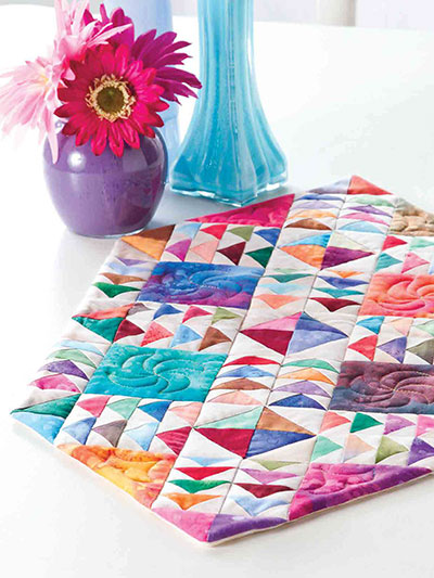 Chasing Rainbows Table Runner