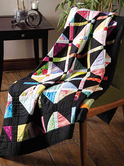 All Squared Up Lap Quilt