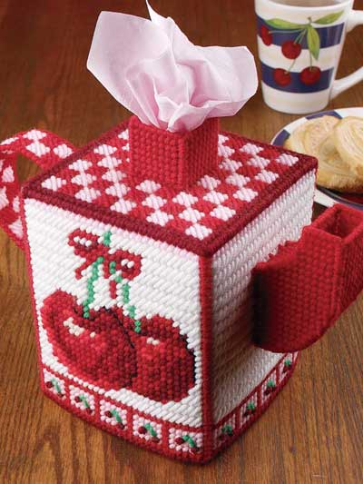Cozy Cherry Teapot