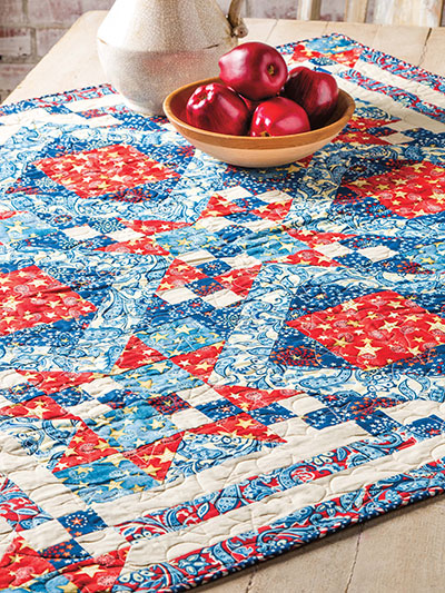 Shooting Stars Table Topper Pattern