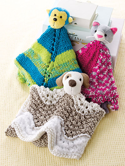 Annie's Signature Designs: Buddy Blankies Knit Patterns