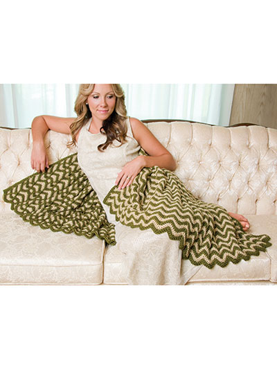 Brocade Ripple Throw