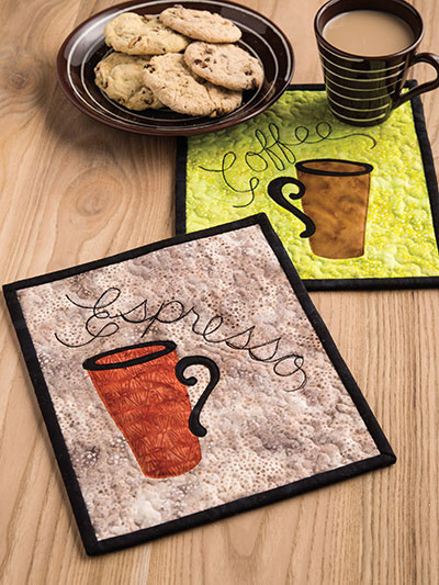 Refreshing Mug Rugs Pattern