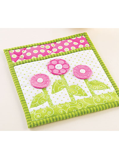 May Flowers Pot Holder Pattern