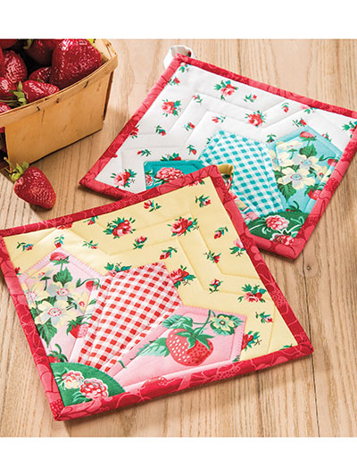 Grandma's Fan Pot Holder Pattern