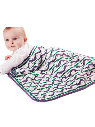 Wild Child Baby Blanket Crochet Pattern