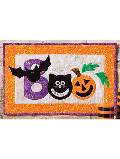 Boo Crew Wall Hanging Pattern