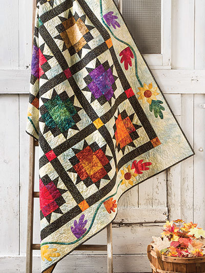 My Favorite Color Is October Quilt Pattern