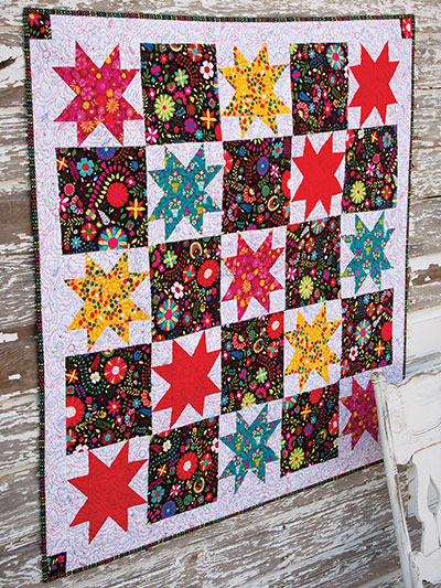 Star Stomp Wall Quilt Pattern