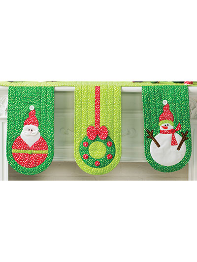 Joyful Mantel Scarf Pattern