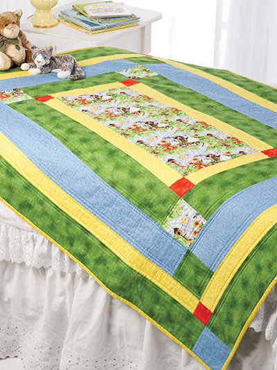 Around the Block Quilt Pattern