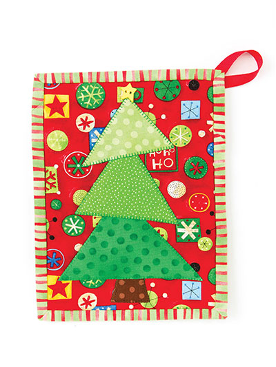 Oh, Christmas Tree Pot Holder Pattern