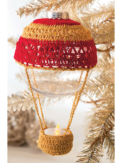 Up & Away Ornament Crochet Pattern