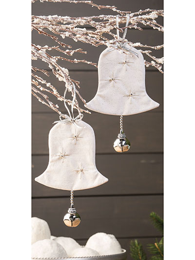 Silver Bells Ornament Pattern