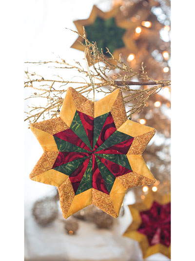 Shining Stars Ornament Pattern