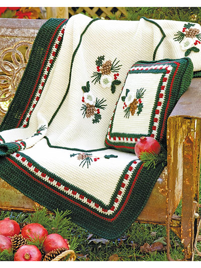Christmas Rose Afghan