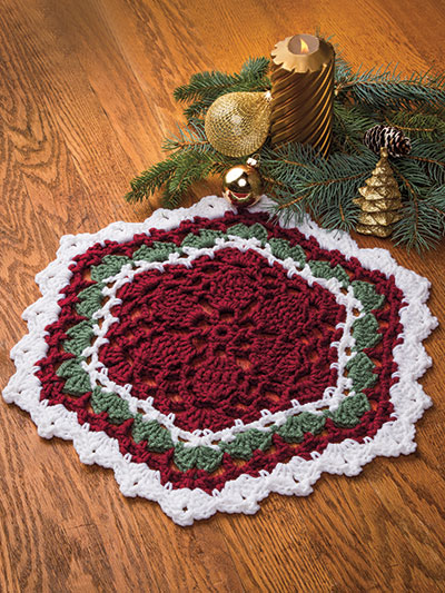 Holiday Hexagon Mat