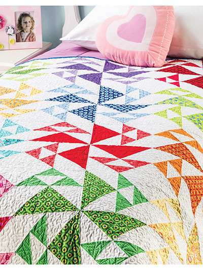 Wild Goose Chase Bed Quilt