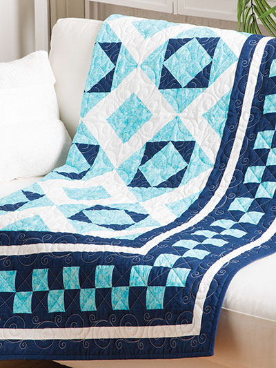 Checkerboard Beauty Lap Quilt
