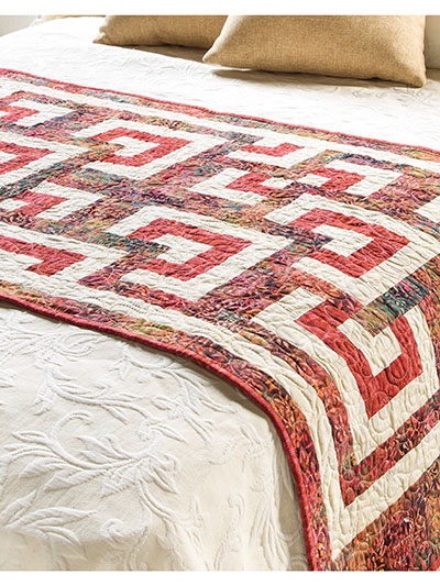 Rest & Relaxation Bed Runner