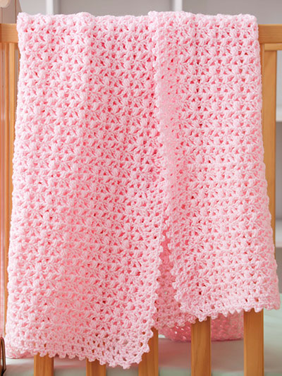 Pretty Pink Baby Blanket