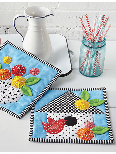 Springtime Pot Holder Set