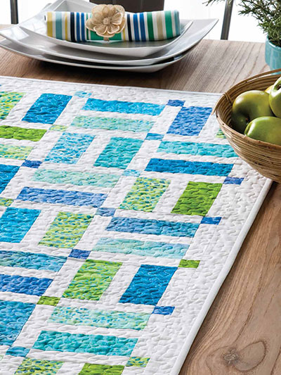 Splitting Hairs Table Runner