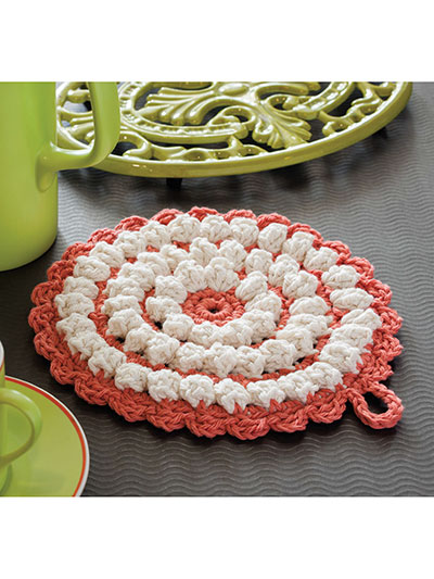Gems Hot Pad Crochet Pattern