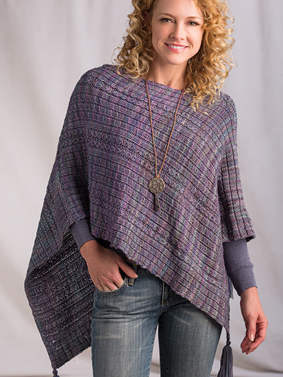 Aldington Poncho Knit Pattern