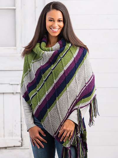 Sonora Shawl Knit Pattern
