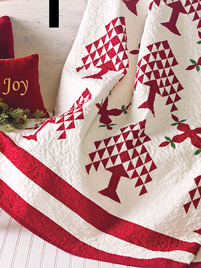 Victorian Christmas Quilt Pattern