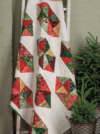 Crystal Christmas Quilt Pattern