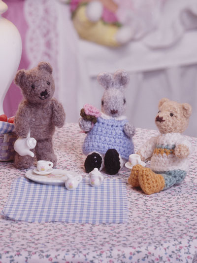 Tea Party Crochet Pattern