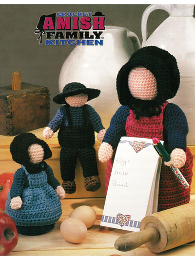 Amish Family Kitchen Crochet Pattern