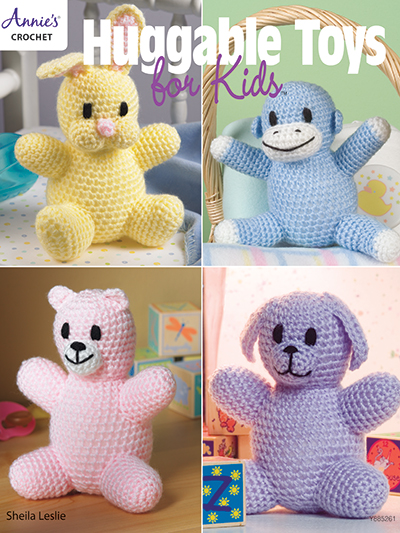 Huggable Toys for Kids Crochet Pattern