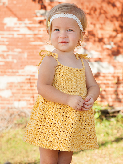 Sunshine Dress Crochet Pattern