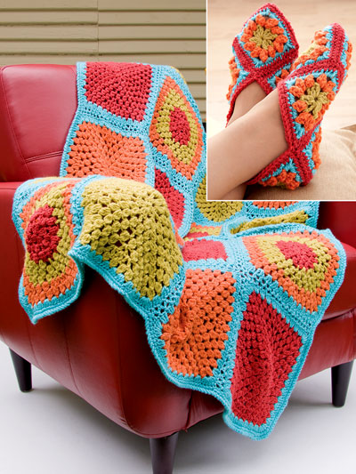 Glorious Granny Squares Crochet Pattern