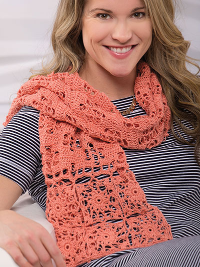Solomon's Knots Wrap Crochet Pattern