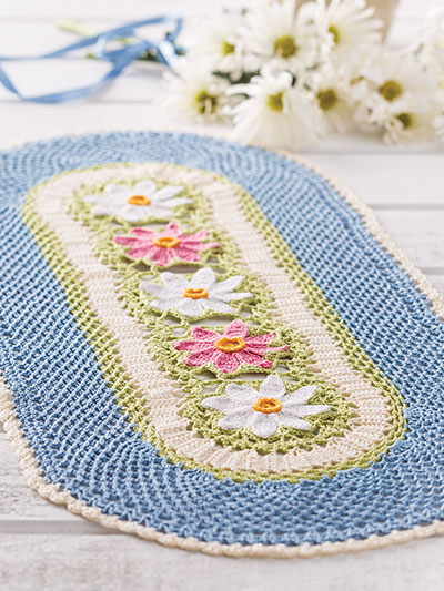 Daisies in the Garden Crochet Pattern