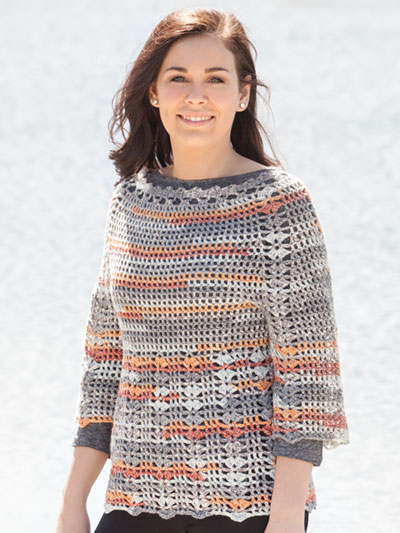 Port Orange Pullover Crochet Pattern