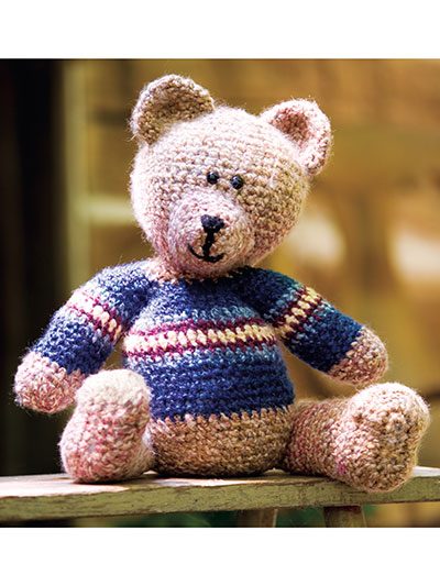 Eddie Teddy Crochet Pattern